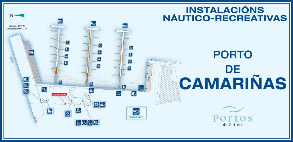 instalaciones servicios club nautico camariñas