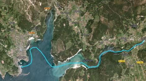 Descenso en kayak Ponte do Porto - Camariñas