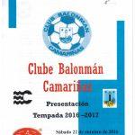 Presentación temporada 2016/17 del Club Balonmano Camariñas