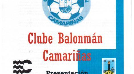 presentación temporada 2016 2017 club balonmano camariñas