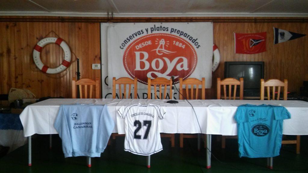 temporada 2016 2017 club balonmano camariñas