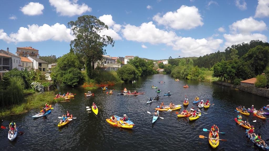 previa descenso kayak camariñas