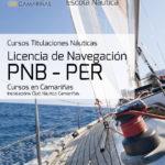 Información cursos licencias náuticas PNB/PER