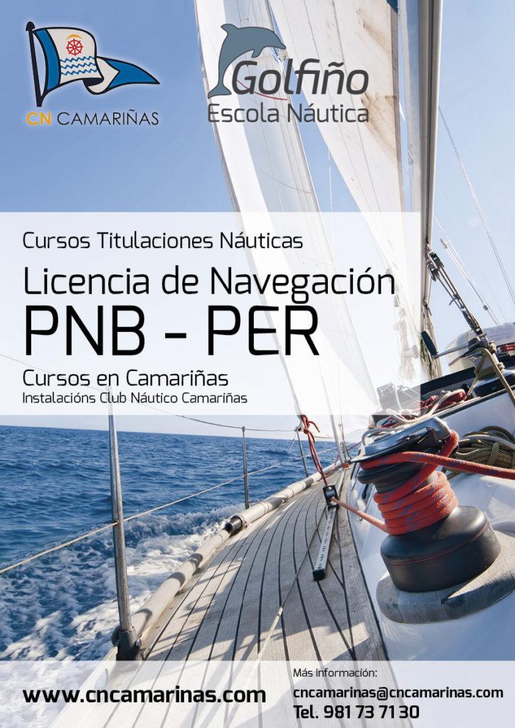 Náutico Golfiño Cartel licencias PNB-PER octubre 2018